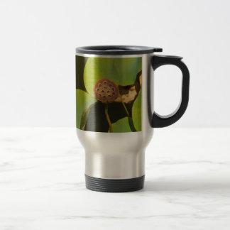 Lotus Pod and Lilly Pad Coffee Mug