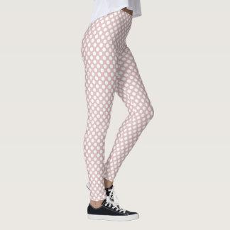 Lotus Polka Dots Leggings