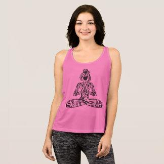Lotus Pose Yoga Singlet