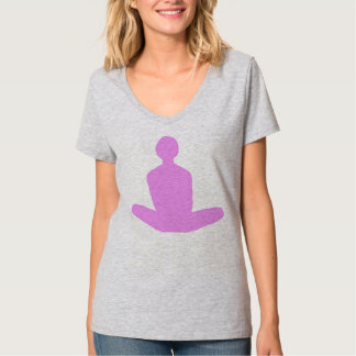 Lotus position in pink! T-Shirt