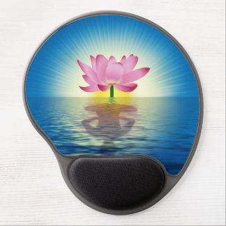 Lotus Reflection Gel Mouse Pad