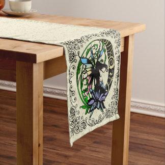 Lotus Shadow Fairy Short Table Runner