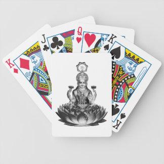 Lotus Song Bicycle Playing Cards