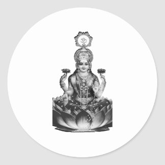 Lotus Song Classic Round Sticker