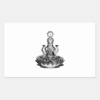 Lotus Song Rectangular Sticker