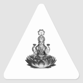Lotus Song Triangle Sticker