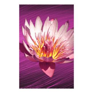 Lotus Custom Stationery
