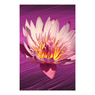 Lotus Personalized Stationery