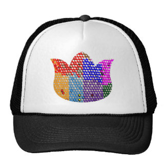 LOTUS : Symbol of Peace and Purity Cap