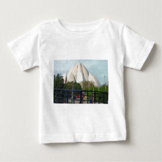 Lotus Temple New Delhi India Bahá'í House Worship Baby T-Shirt
