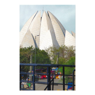 Lotus Temple New Delhi India Bahá'í House Worship Stationery