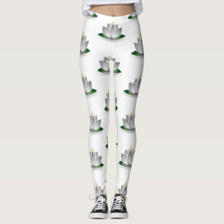 Lotus to flower leggins leggings