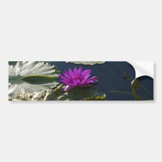 Lotus Waterlily Bumper Sticker