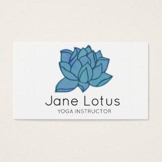 Lotus Yoga Business Card