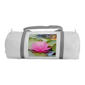 lotus yoga gym bag! gym bag