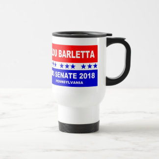 Lou Barletta US Senate 2018 Pennsylvania Travel Mug