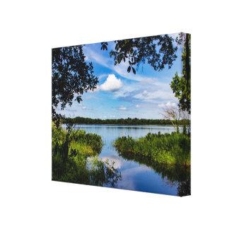 Lou Lake Canvas Print