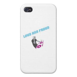 Loud and Proud Band iPhone Case Case For iPhone 4