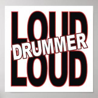 Loud Drummer  Poster