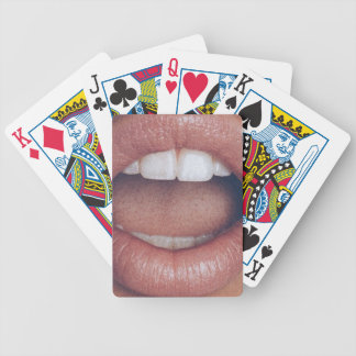 loud mouth bicycle playing cards