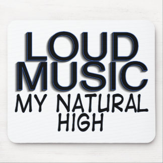 Loud Music Mouse Pad