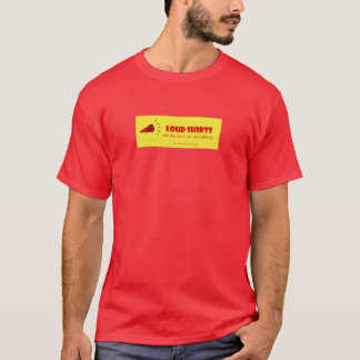 Loud Shirts - let the shirt do the talking - M red