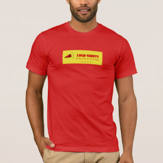 Loud Shirts - let the shirt do the talking -M red2