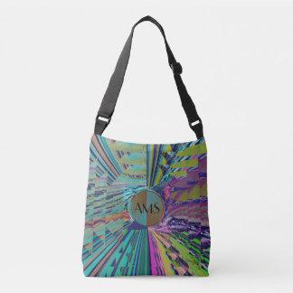 Loud Sound Zingy Abstract Crossbody Bag