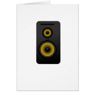 Loud Speaker Card