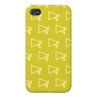 Loud Speaker yellowsi iPhone 4 Case