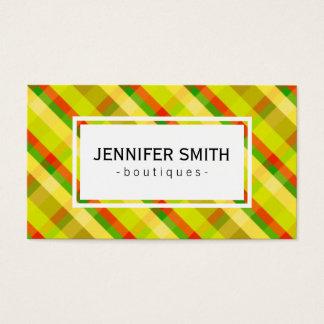 Loud Stripes | Cheerful Business Card
