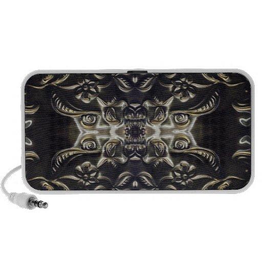 Loudspeaker `` Bolivian sound Flower´´ Travel Speakers
