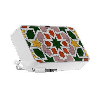 LOUDSPEAKER DOODLE DESIGN ALHAMBRA Number 1 Notebook Speaker