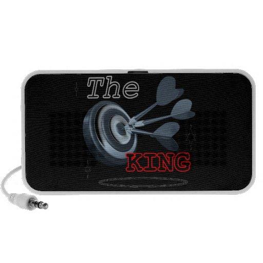 Loudspeaker doodle the king travel speakers
