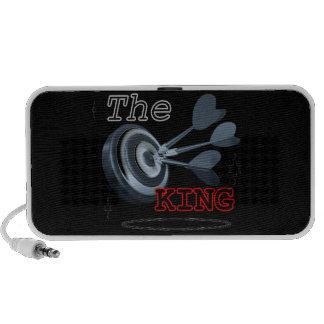 Loudspeaker doodle the king iPhone speaker