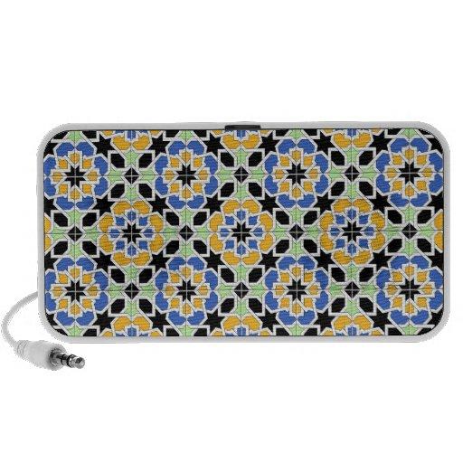 LOUDSPEAKER DOODLE USB DESIGN ALHAMBRA Number 2 Travelling Speaker