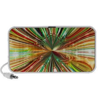 Loudspeaker `` Green Cristal sound Flower´´ iPhone Speaker