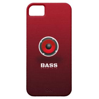 Loudspeaker in red iPhone 5 cases