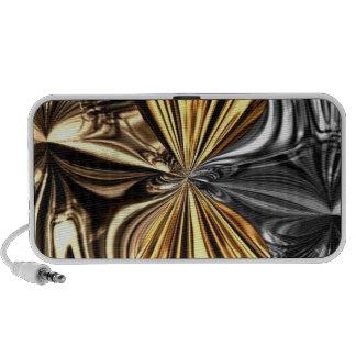 Loudspeaker `` Metallic Bow´´ Travelling Speakers