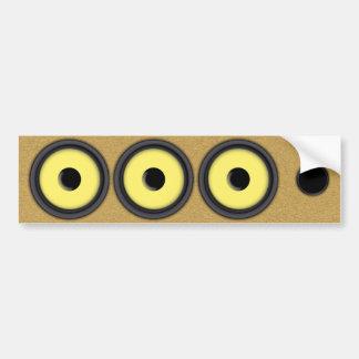 Loudspeaker System Bumper Sticker
