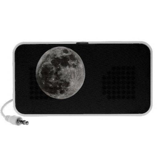 Loudspeakers Full Moon iPhone Speakers