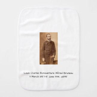 Louis Charles Bonaventure Alfred Bruneau Burp Cloth
