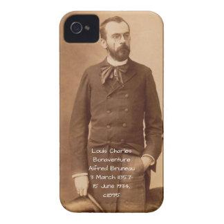 Louis Charles Bonaventure Alfred Bruneau iPhone 4 Covers