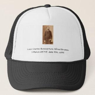 Louis Charles Bonaventure Alfred Bruneau Trucker Hat