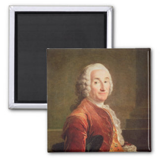 Louis Francois Armand de Vignerot du Plessis Square Magnet