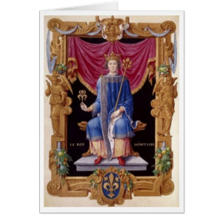Louis IX Boyking Card