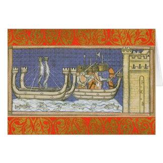 Louis IX Medieval/Renaissance Card