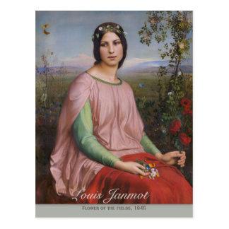 Louis Janmot Flower of the fields CC0912 Postcard