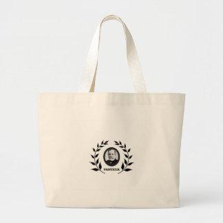 louis pasteur art works large tote bag