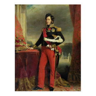 Louis-Philippe I , King of France Postcard